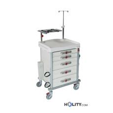 Medizinischer Notfallwagen mit 5 Schubladen h527_01