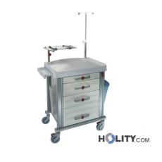 Medizinischer Notfallwagen mit 4 Schubladen h527_02