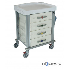 Medikationswagen für Krankenhäuser h527_06