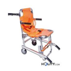 Patiententransport- und evakuierungsstuhl, 2 Räder h567_01