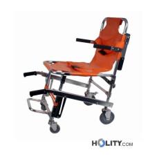Patiententransport- und evakuierungsstuhl, 4 Räder h567_02