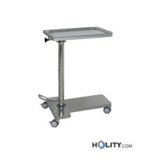 Mayo-Tisch/Wagen, Ablage höhenverstellbar und drehbar h573_12