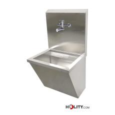 OP-Waschbecken mit elektronischer Entnahmearmatur h601_07