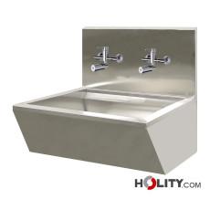 OP-Waschbecken mit elektronischer Entnahmearmatur h601_09