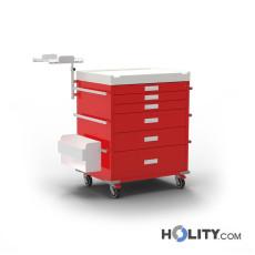 Nofallwagen für Kliniken h634_06
