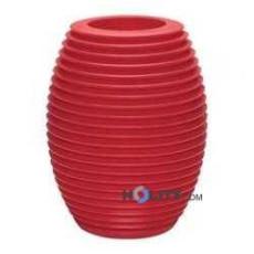 Vase aus Polyethylen h6435 rot