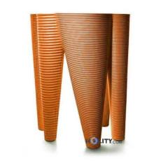 Vase aus Polyethylen h6437 orange