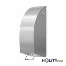 Desinfektionsmittelspender aus Stahl h647_12