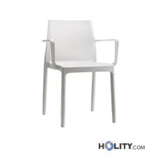 Stuhl CHLOÈ TREND von SCAB mit Armlehnen h74312