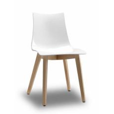 SCAB Stuhl NATURAL ZEBRA ANTISHOCK h7492 - Buche natur + Schale weiß