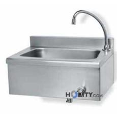 Handwaschbecken aus Edelstahl h8313