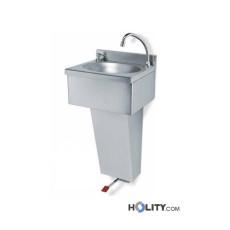 Handwaschbecken aus Edelstahl h8315