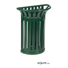 Mülleimer aus Metall h8628