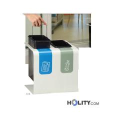 Mülleimersystem zur Abfalltrennung h86_81