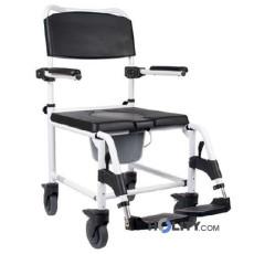 Bequemer Rollstuhl für Duschen aus Aluminium h8915