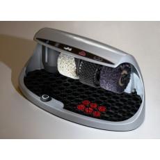 Automatische Schuhputzmaschine mit Politurspender h14205 silber