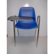 Konferenzstuhl mit Armlehnen und Schreibplatte h15947
