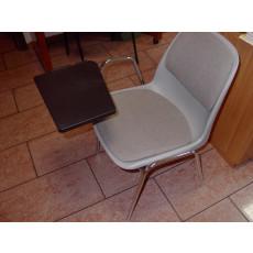 Gepolsterter und feuerfester Konferenzstuhl mit Schreibplatte h15949