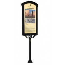 Anzeigetafel für darstellende Aushänge h140218