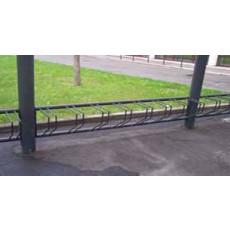 rastrelliere porta bici da tassellare a muro h10915