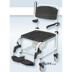 Rollstuhl für Duschen h9928