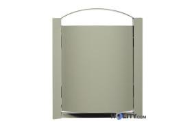 Wand-Abfallbehälter in verschiedenen Farben h8608 grau