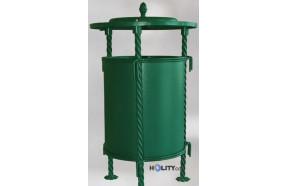 Abfallbehälter mit Regenschutz h168117