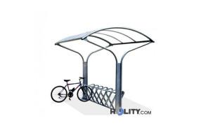 Fahrradständer-mit-Regenschutz-h14056