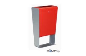 Abfallbehälter für Außenbereiche in modernem Design h140_328