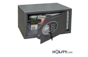 Sicherheitstresor mit elektronischem Tastenschloss und zusätzlichem Einwurfschlitz h4217