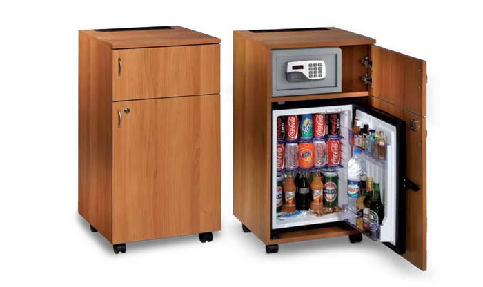 suchen sie minibar inklusive schrank 42 liter h7656. Black Bedroom Furniture Sets. Home Design Ideas